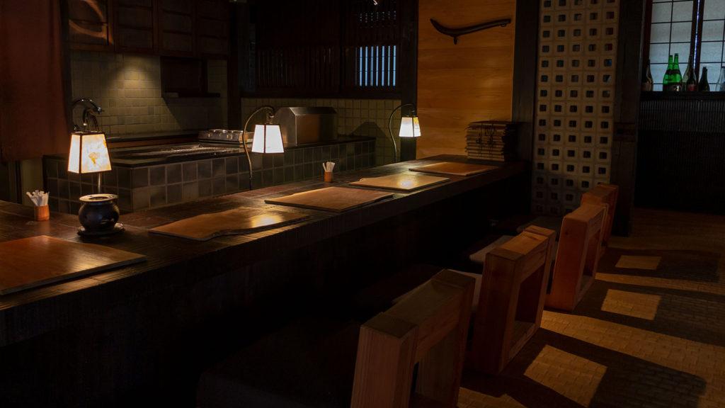 白樺高原、女神湖畔:信州そば杣人の家内観